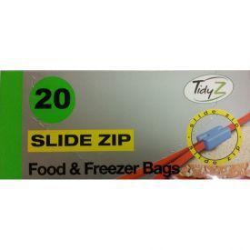 Maisto šaldymo maišeliai TidyZ su lengvu uždarymu, 20 vnt.
