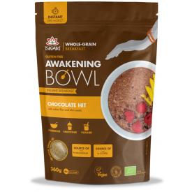 Ekologiškas pusryčių mišinys ISWARI šokoladinis Chocolate Hit, 360g