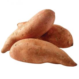 Ekologiškos saldžiosios bulvės (batatai) (fasuotos) I kl. NATURALIA ŪKIS