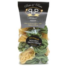 """Makaronai su špinatais Pasta&Pasta """"Tagliatelle paglia e fieno"""", 500 g"""