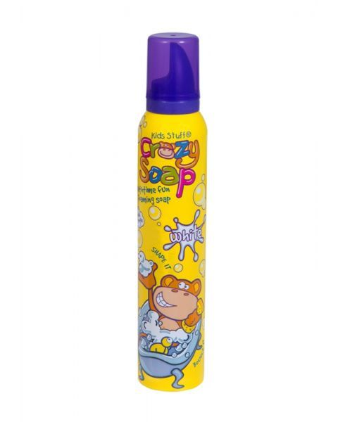 Putos maudynėms KIDS STUFF Monkey white, 225 ml