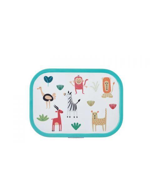 """Vaikiška maisto dėžutė su skyreliais MEPAL Campus """"Animal Friends"""", 1 vnt. 2"""