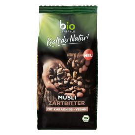 Ekologiški dribsniai BIOZENTRALE su skaldyta kakava, 500 g