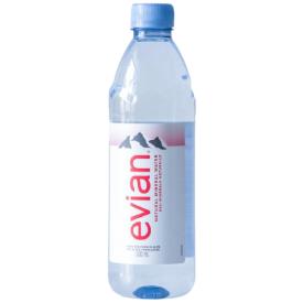 EVIAN natūralus mineralinis vanduo, 500 ml