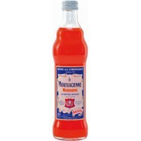 Gazuotas gaivusis gėrimas LA MORTUACIENNE, mandarinų skonio, 0,33L