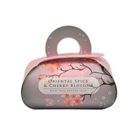 Muilas dovanoms ORIENTAL SPICE & CHERRY BLOSSOM, English Soap, 260 g