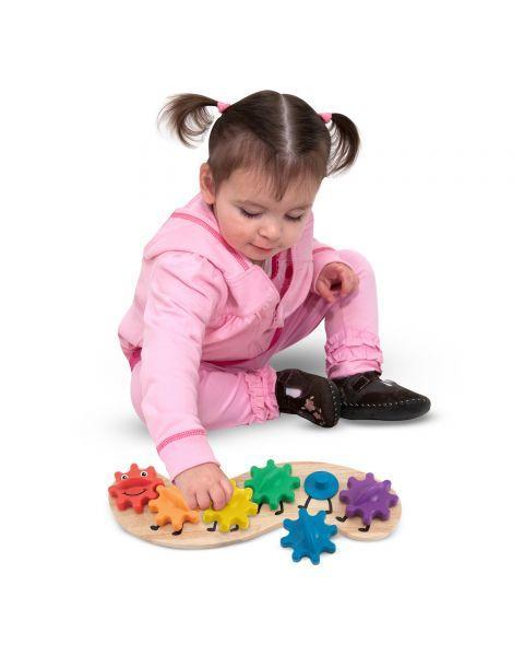"Žaislas su dantračiais MELISSA & DOUG ""Caterpillar"", 1 vnt. 3"