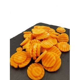 Šaldytos morkų riekelės, banguotos, 450g