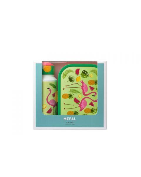 """Vaikiškas rinkinys dėžutė ir gertuvė MEPAL Campus """"Tropical flamingo"""", 1 vnt. 2"""
