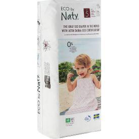 Ekologiškos sauskelnės-kelnaitės NATY Junior, 5 dydis (12-18 kg), 34 vnt.