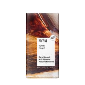 Ekologiškas juodasis nugos šokoladas VIVANI, 100 g
