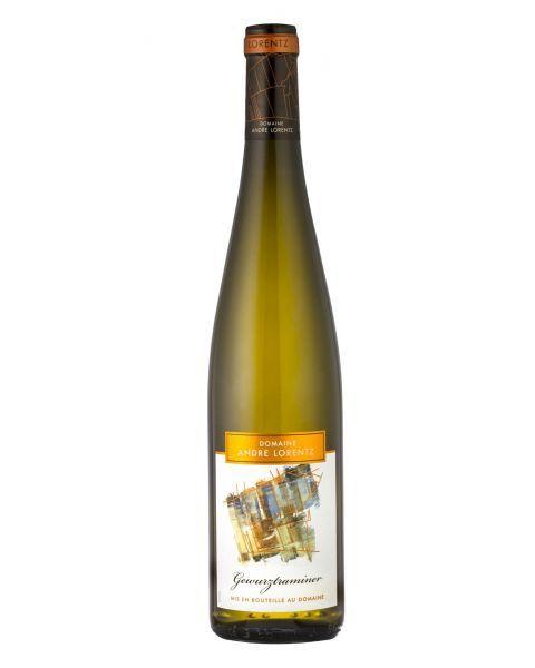 Baltas pusiau sausas vynas Andre Lorentz Gewurztraminer 13,5 %, 750 ml