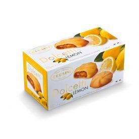 Sausainiai  CORSINI su citrinų įdaru, 120 g