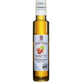 Lazdyno riešutų skonio sirupas SIROP RIEME, 250 ml