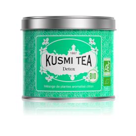 Žaliosios ir mate arbatų mišinys DETOX KUSMI TEA, 125g