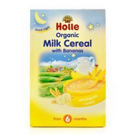 Ekologiška pieno košė HOLLE su bananais kūdikiams nuo 6 mėn., 250 g