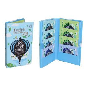 Ekologiškos arbatos rinkinys ENGLISH TEA SHOP Blue Traveller Pack, 8 maišeliai