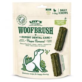 "Kramtomieji skanėstai šunims dantų priežiūrai LILY'S KITCHEN ""Woofbrush Dental Chew Mini Multipack"", 130 g"