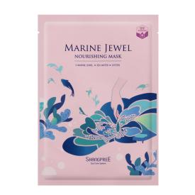 Maitinamoji veido kaukė su austrių ekstraktu SHANGPREE Marine Jewel (30 ml), 1 vnt.