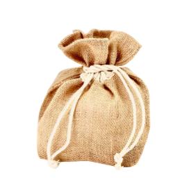 Daugkartinio naudojimo džiuto maišelis dovanoms (5 L) SUZTAIN, 1 vnt.