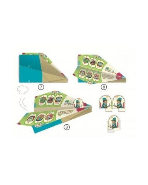 Origami DJECO Lėktuvai 7-12 metų vaikams (DJ08760) 2