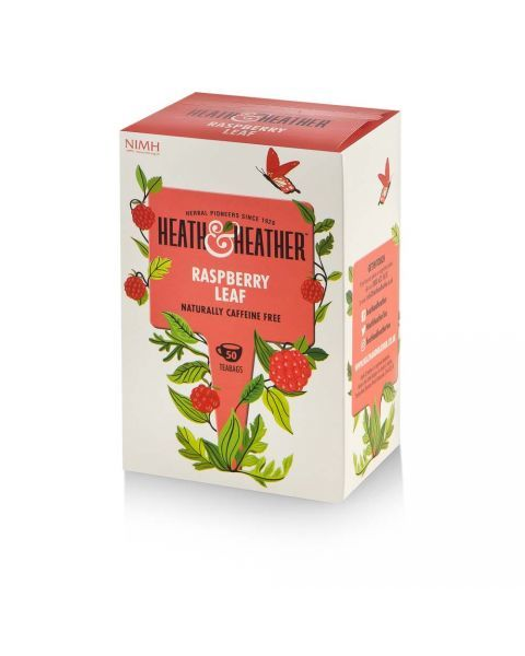 Aviečių lapų arbata HEATH & HEATHER, be kofeino 100g