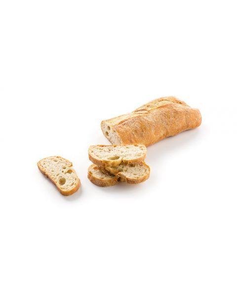Kaimiška kvietinė čiabatos duona, kepta ant akmens, 400g