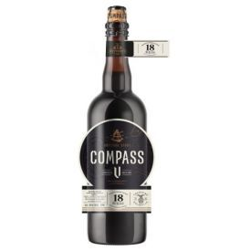 Alus ŠVYTURYS Compass V tamsusis, 10% 0,75L