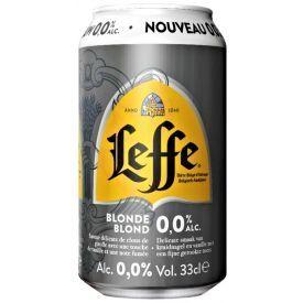 Nealkoholinis alus LEFFE Blond 330 ml