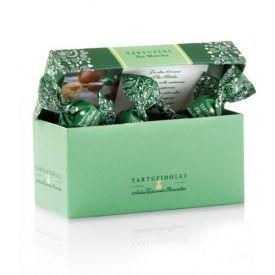 Šokoladiniai triufeliai ANTICA TORRONERIA PIEMONTESE  su Matcha arbata, 100 g