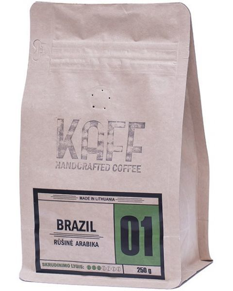 Kavos pupelės KAFF Brazil, 250g