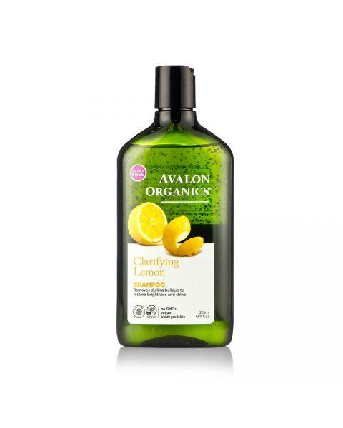 Valomasis šampūnas AVALON ORGANICS su citrina, 325 ml