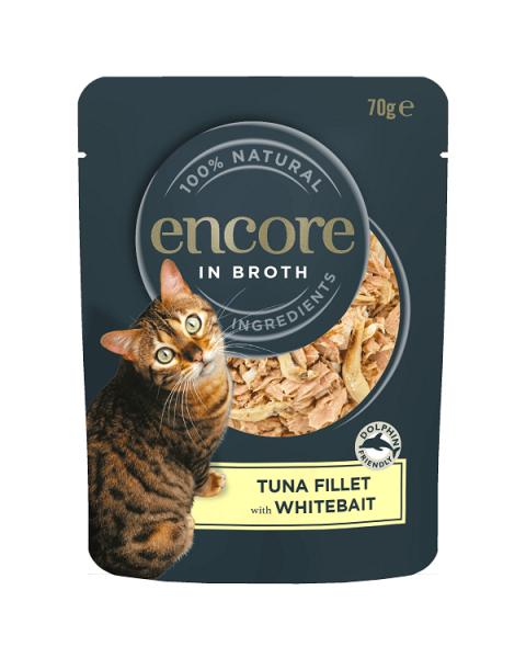 Kačių maistas ENCORE su tunais, 70 g