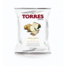 Bulvių traškučiai kietojo sūrio skonio TORRES, 150g