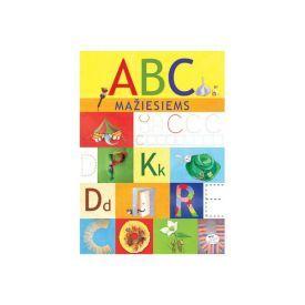 Užduočių knygelė NIEKO RIMTO ABC mažiesiems 3-6 m. vaikams
