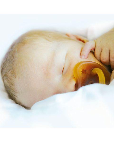 Čiulptukas HEVEA Karūna 0-3 mėn. kūdikiams 2