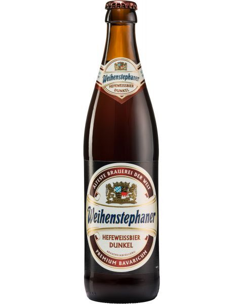 Alus Kvietinis WEIHENSTEPHANER Dark 5,3%, 500ml