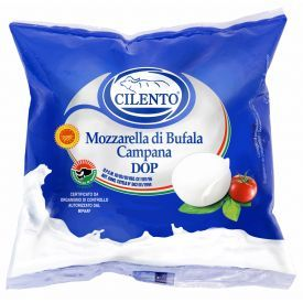 Šviežias buivolių pieno sūris Mozzarella di Bufala Campana DOP, CILENTO, 52% rieb. s. m., 250g
