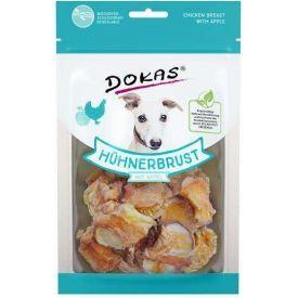 Vištienos krūtinėlės skanukas šunims DOKAS su obuoliais, 70 g