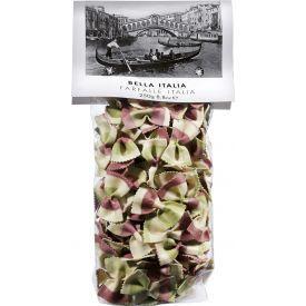 Spalvoti makaronai BELLA ITALIA, kaspinėliai Italia, 250 g