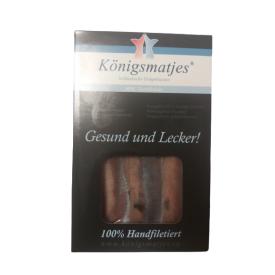 Silkės filė Konigsmatjes, be odos, su uodegos segmentu, 280g