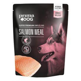Konservuotas šunų maistas PRIMA DOG su lašiša,260 g