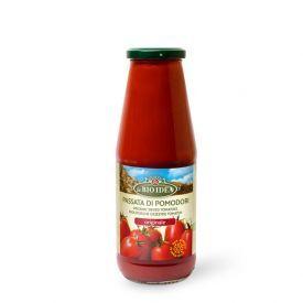 Ekologiška pomidorų tyrė Passata LA BIO IDEA, 680 g