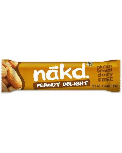 """Datulių ir žemės riešutų batonėlis NAKD """"Peanut Delight"""", 35g"""