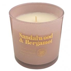 CANDELE FIRENZE žvakė santalo ir bergamotės kvapo, 65h, 310 g