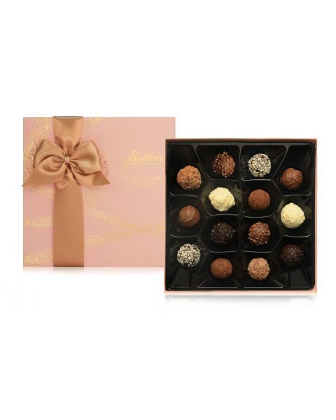 Šokoladinių triufelių rinkinys BUTLERS Pink, 200 g 2