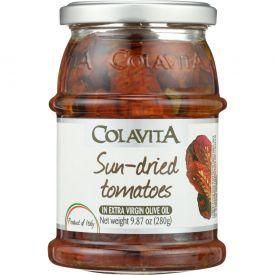 Saulėje džiovinti pomidorai COLAVITA alyvuogių aliejuje, 280 g