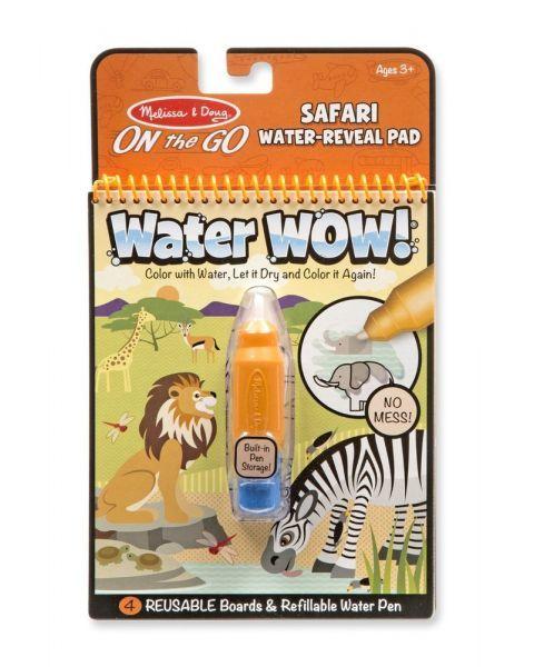 """Spalvinimo vandeniu rinkinys MELISSA & DOUG """"Safari"""", 1 vnt."""