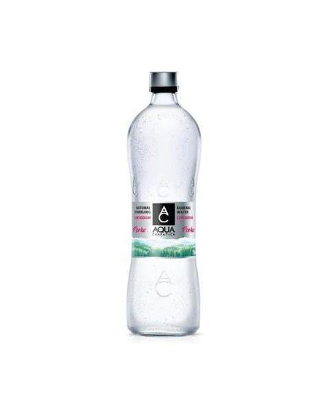 Natūralus mineralinis vanduo AQUA CARPATICA su sumažintu natrio kiekiu, negazuotas 500ml