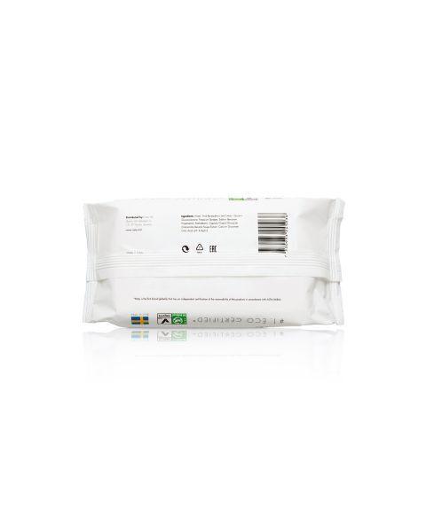 Itin storos ir minkštos drėgnos servetėlės NATY Sensitive su alavijų ekstraktu, 56 vnt. 2